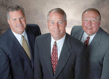 Image of Owners Brian Brummel, Scott Cessna and Steve Schomaker